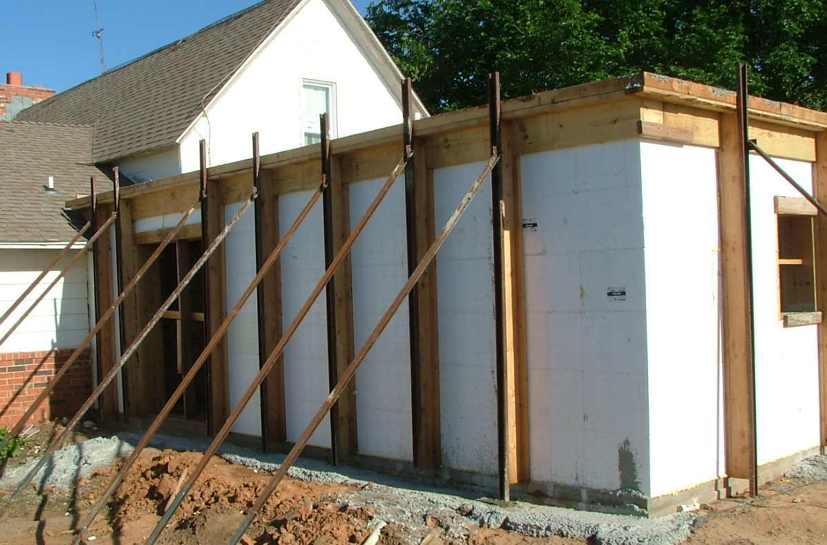 Icf saferrom room addition kingfisher oklahoma for Icf housing