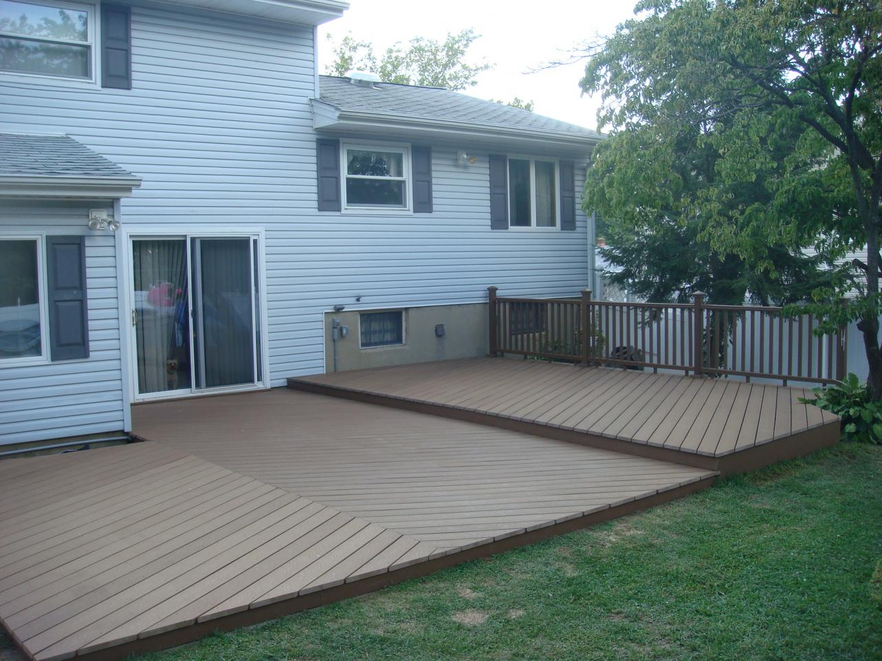First Ground Level Deck Need Advice Please