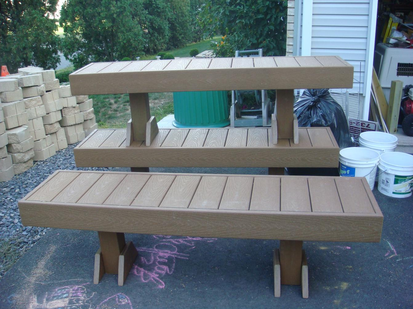 Astonishing Standard Height And Width For Bench On A Deck Decks Lamtechconsult Wood Chair Design Ideas Lamtechconsultcom