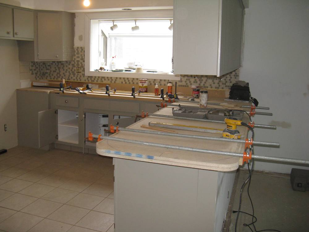 aground how to build kitchen