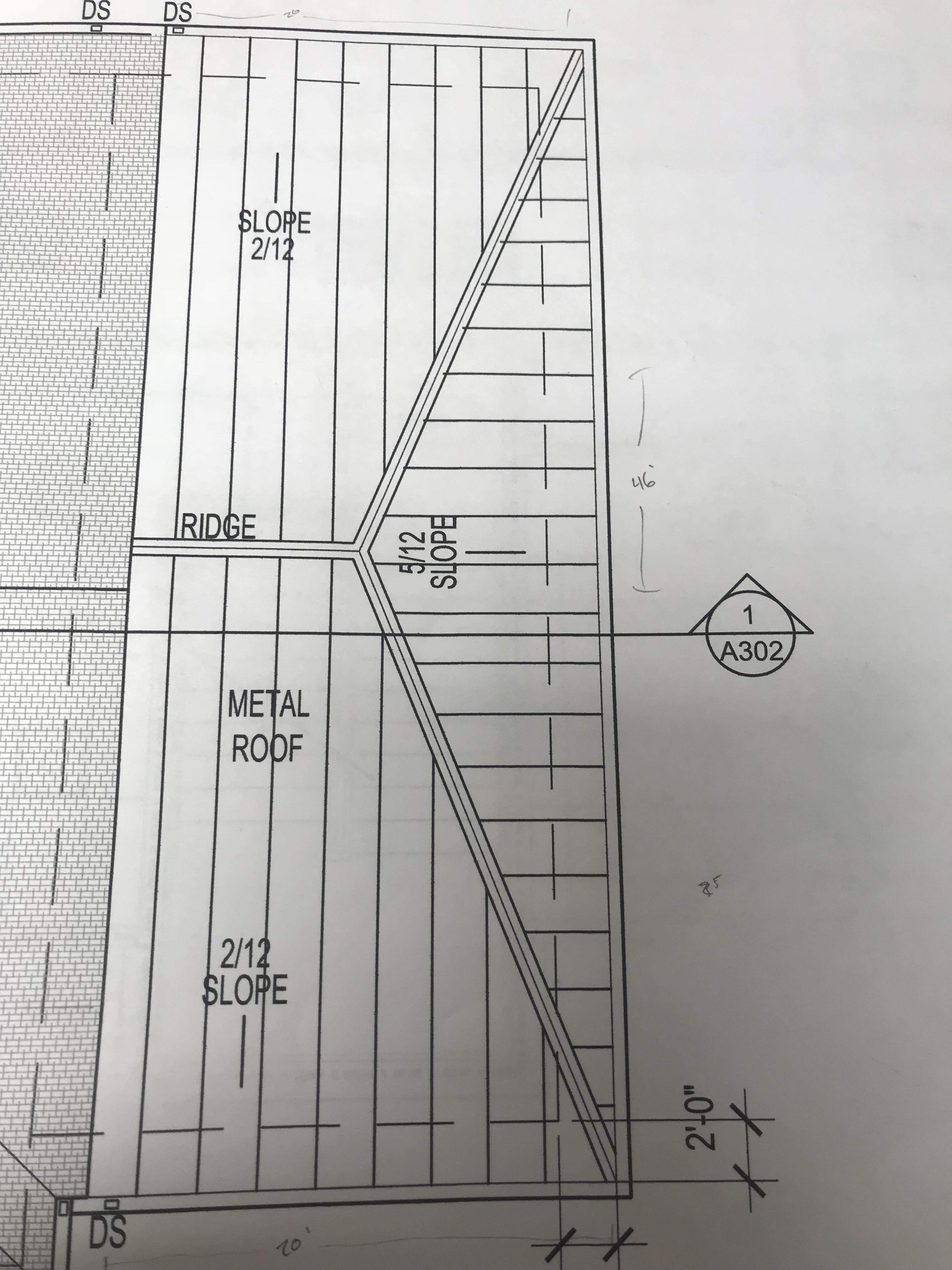 How To Measure A Hip Roof From Blueprints Contractor Talk Professional Construction And Remodeling Forum