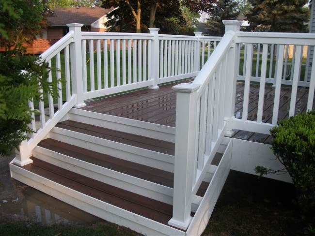 Stair skirt boards decks fencing contractor talk for Deck stairs pictures