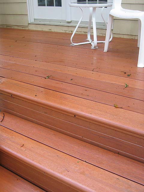Eon decking construction contractor talk for Redwood vs composite decking