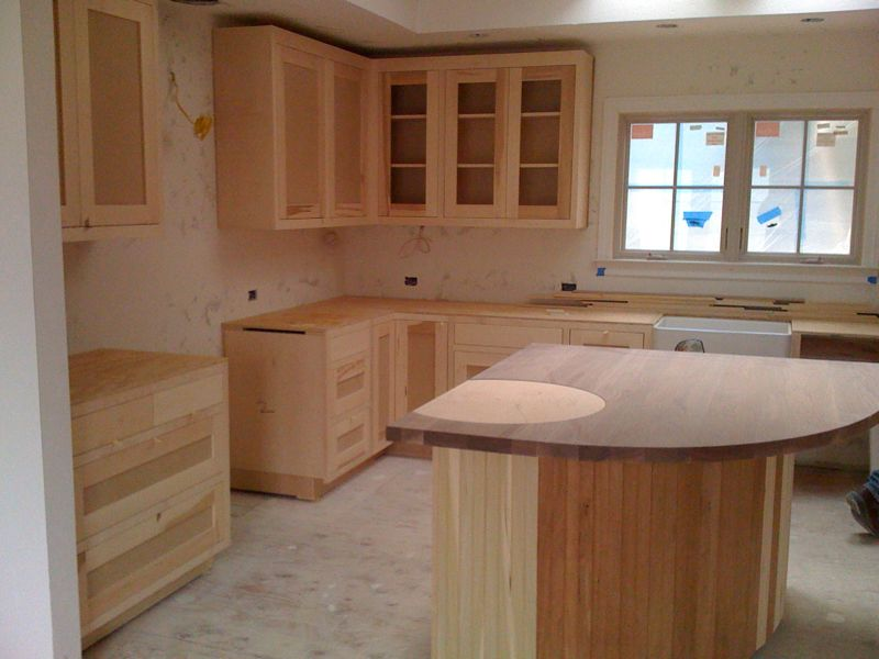 Woodwork poplar wood cabinets pdf plans for Pictures of wood kitchen cabinets
