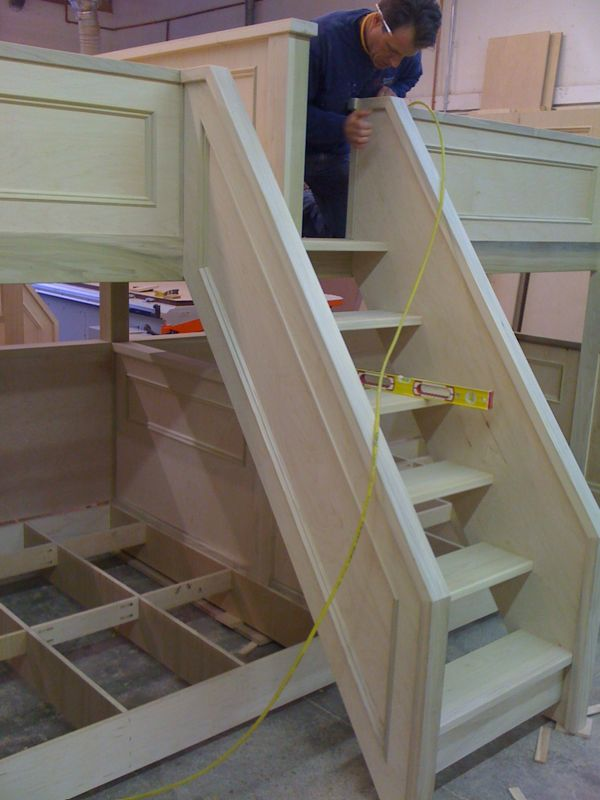 Pair Of Quad Bunk Beds Page 2 Finish Carpentry