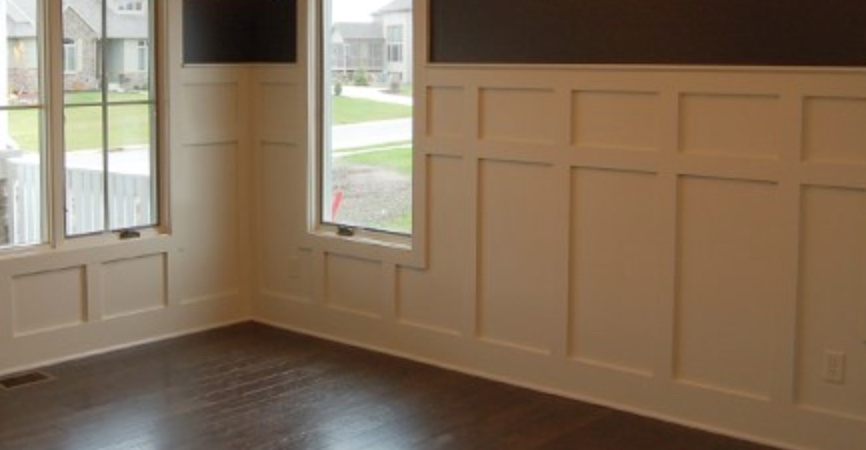 Wainscoting To 1x4 Casing Transition Finish Carpentry