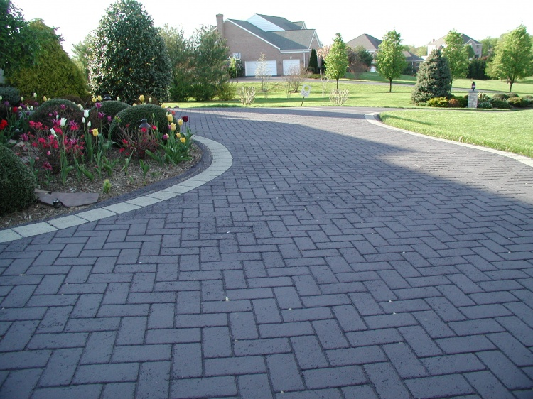 Stamped Asphalt Driveway Specialty Trades Picture Post
