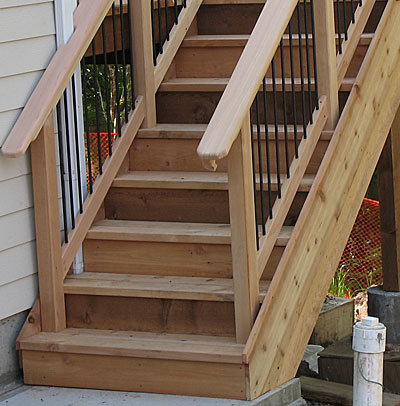 ... Installing Trex Decking On Stairs By Deck Boards Deck Boards How To  Install ...