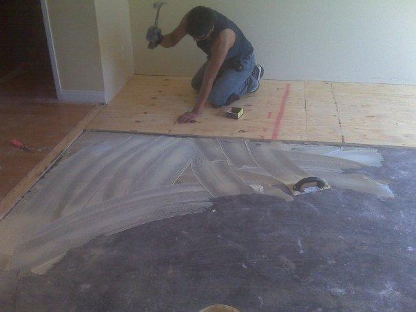 Hardwood Floor On Concrete popular of hardwood floor on concrete installing wood floor over concrete Hardwood Flooring On Concrete 7920_104626486214512_6288191_njpg
