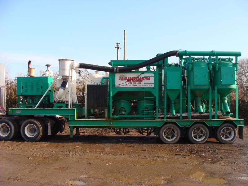 Sandblasting Truck Hopper Ideas?? - Sandblasting