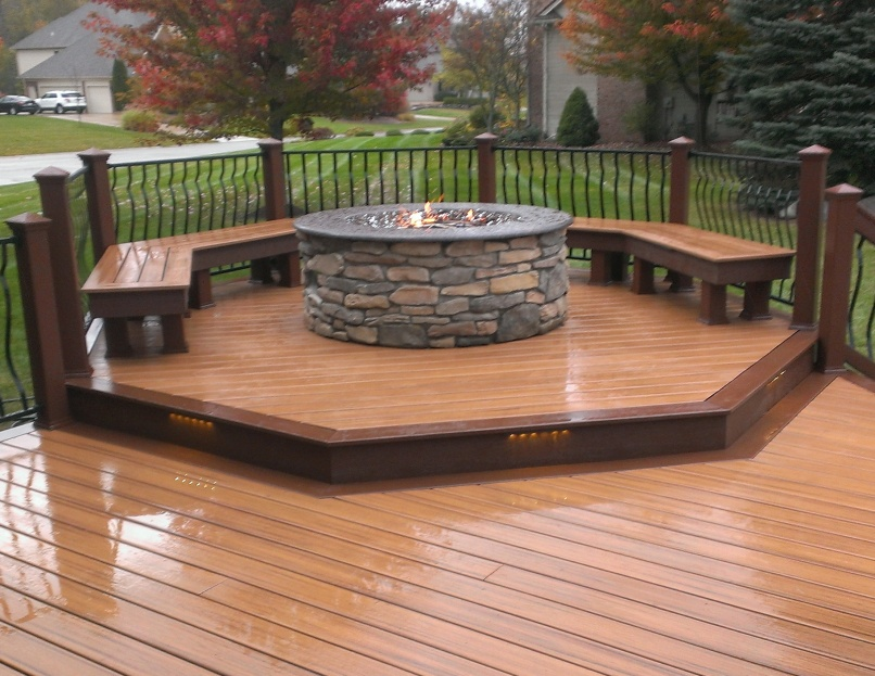 Natural Outside Fire Pits For Patios