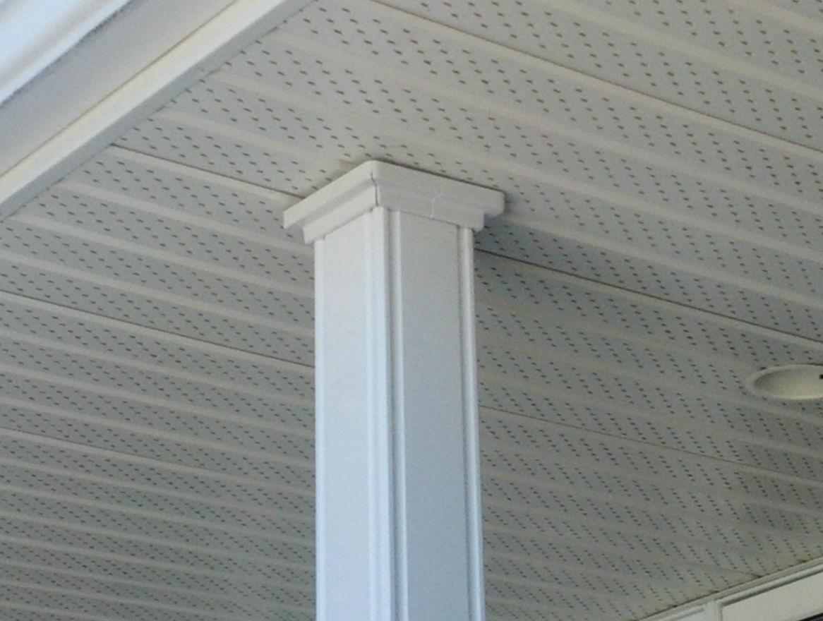 Porch Post Replacement Flush Cut Decks Amp Fencing