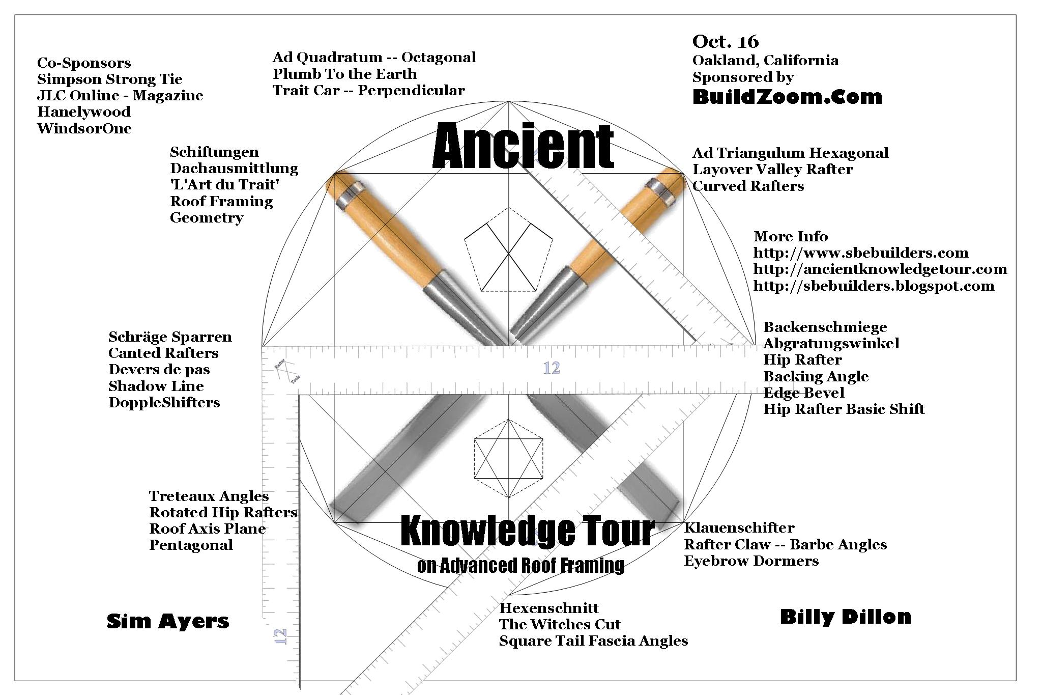Ancient Knowledge Tour Of Roof Framing - Framing - Contractor Talk