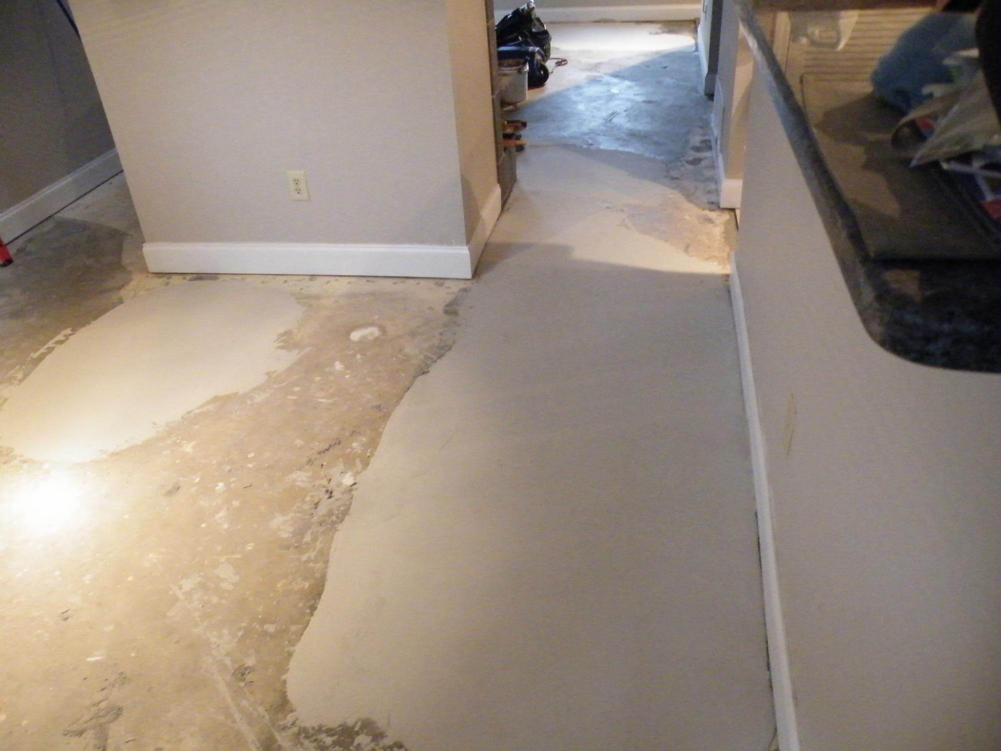 Unlevel floor fix flooring contractor talk for Hardwood floors uneven