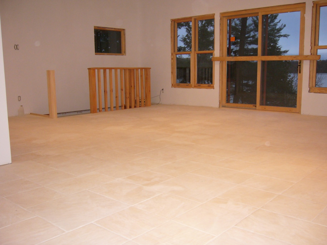 Tile Lippage Or Uneven Tile When Your Tile Doesnt Match Up Mud In - Unlevel basement floor