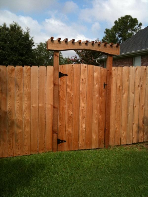 New arbor designs decks fencing contractor talk for Gate arbor plans