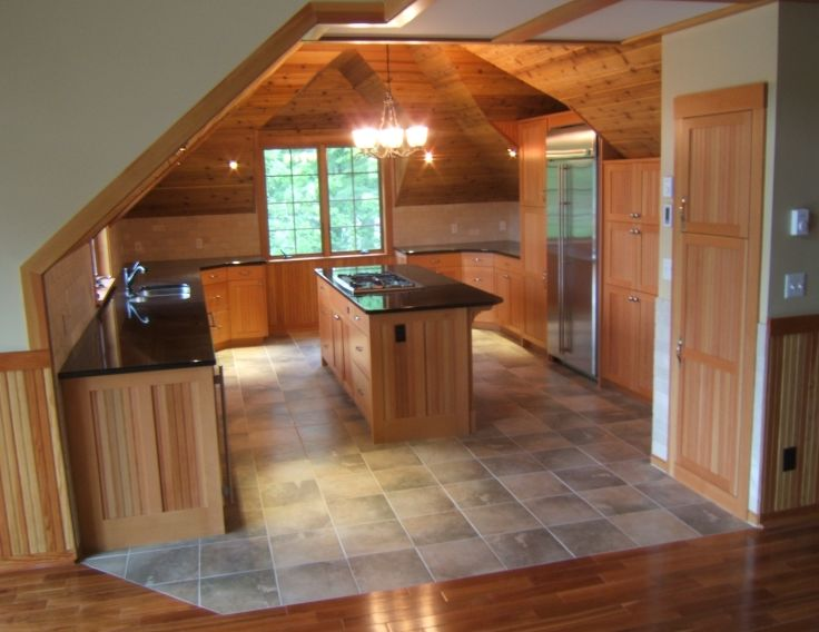 Doing cabinetmaking on the side page 3 finish for Attic kitchen designs