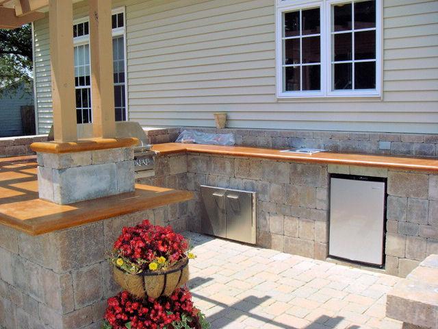 Concrete Countertop Overhang Question Bar After1 Jpg