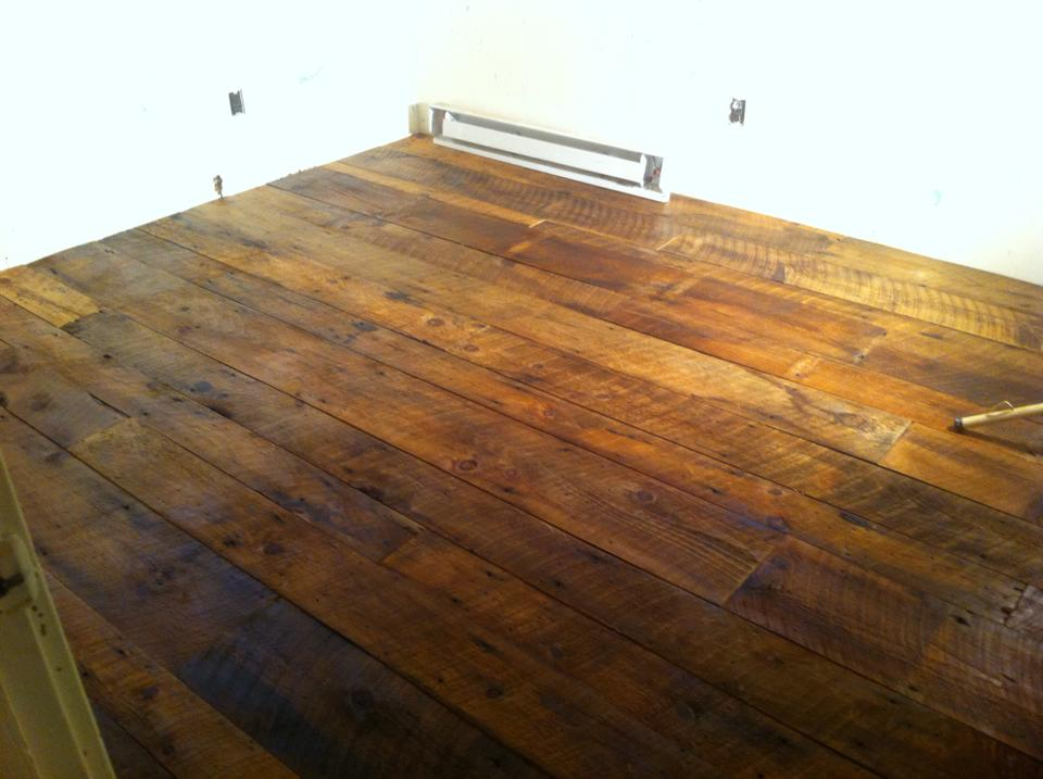 Reclaimed Barn Wood Floor - Reclaimed Barn Wood Floor - Flooring Picture Post - Contractor Talk
