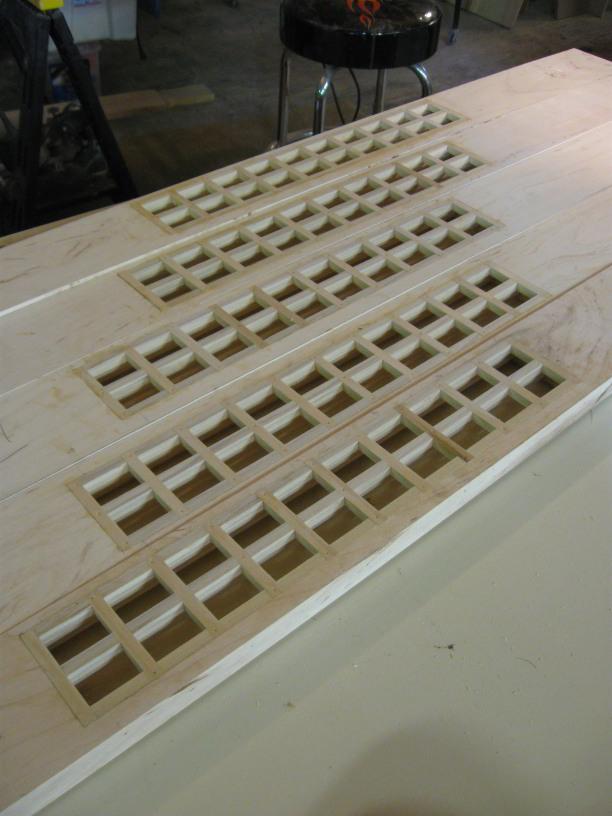 Flush Integrated Baseboard Registers Finish Carpentry