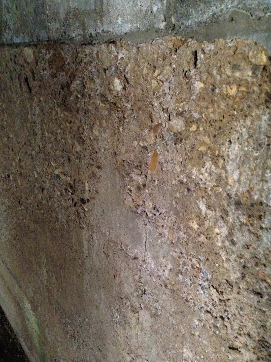 90 Year Old Poured Basement Walls Problem Pics Masonry