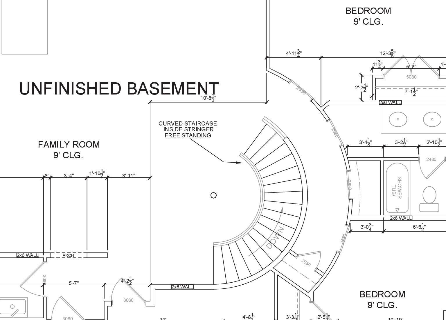 Curved stairs again page 4 carpentry contractor talk for Curved staircase design plans
