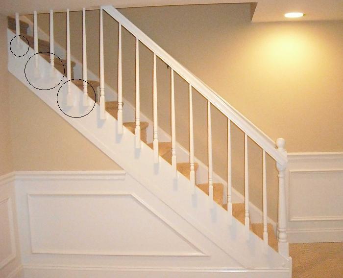 "Basement Stair Lighting Pendant: ""High End"" Stair Rail"