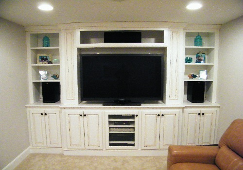 Building A Built In Entertainment Center