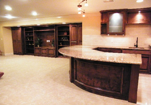Finished basement remodeling picture post contractor talk for Luxury basements