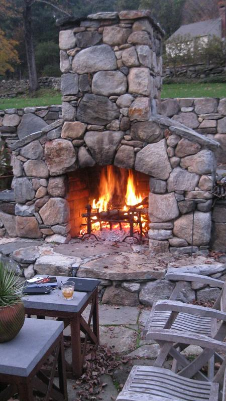 Outdoor Fireplace Landscaping Contractor Talk