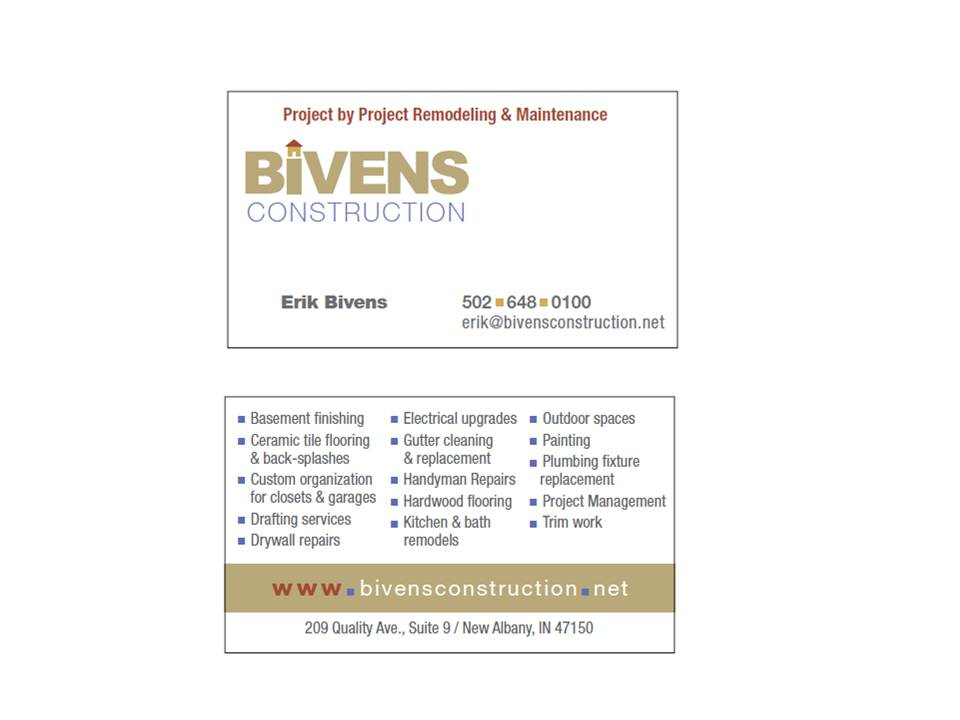 Show Your Business Card - Page 3 - Marketing & Sales - Contractor Talk
