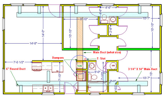 New ductwork for beach house hvac contractor talk for New and innovative heating and cooling system design