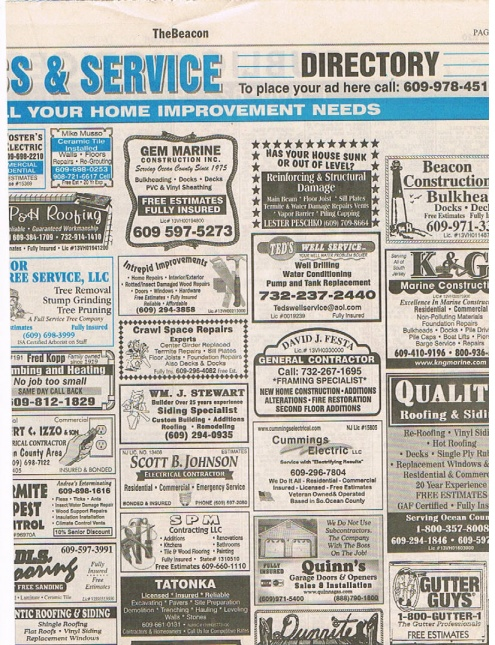 Newspaper Ad S Marketing Amp Sales Contractor Talk