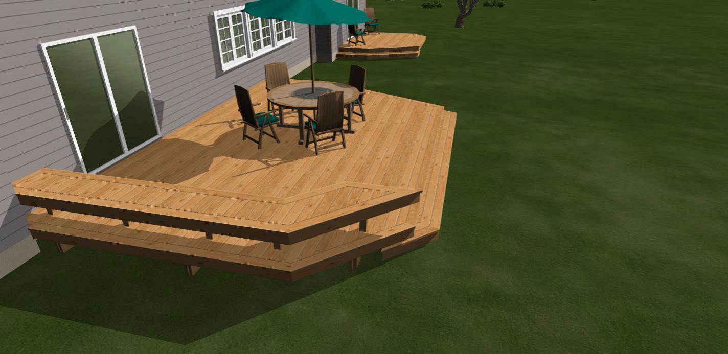 Groovy Standard Height And Width For Bench On A Deck Decks Lamtechconsult Wood Chair Design Ideas Lamtechconsultcom