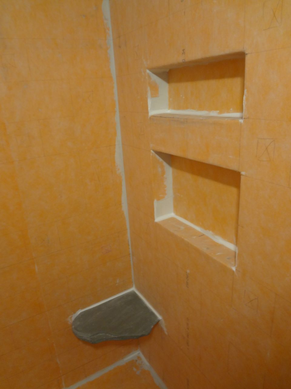 Floating Marble Shower Seat. - Kitchens & Baths - Contractor Talk
