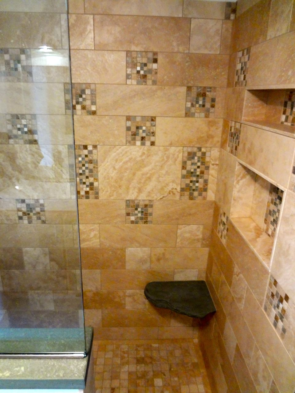 Floating Marble Shower Seat Contractor Talk Professional Construction And Remodeling Forum