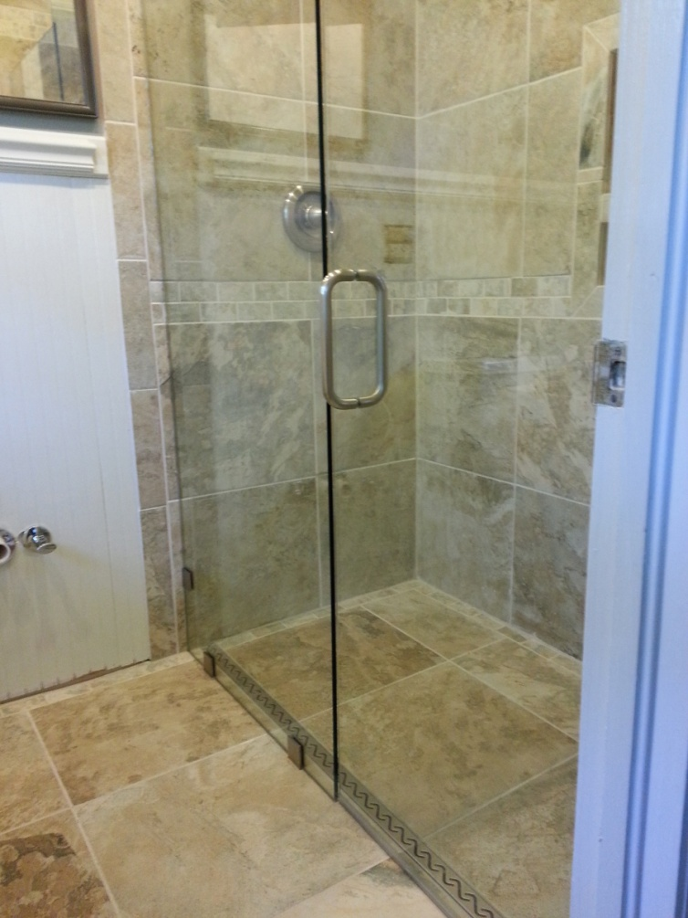 Bathroom Remodel Curbless Shower : Curbless shower on concrete slab page remodeling