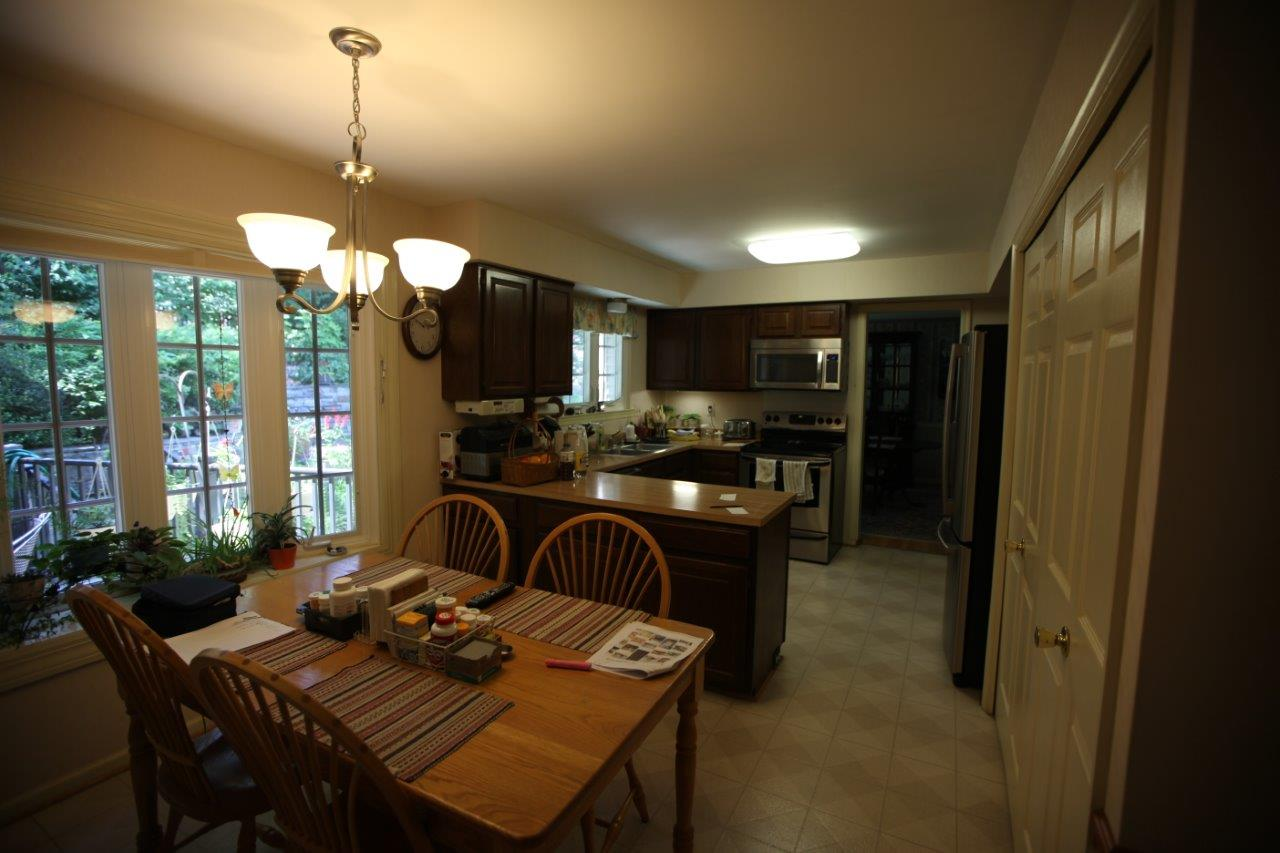 Woodbridge Kitchen Remodel Before After Remodeling Picture Post Contractor Talk