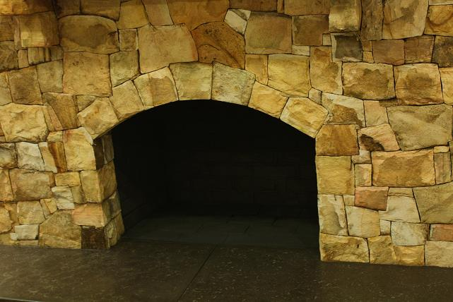 Stone Fireplace Facelift Before And After Masonry Contractor Talk