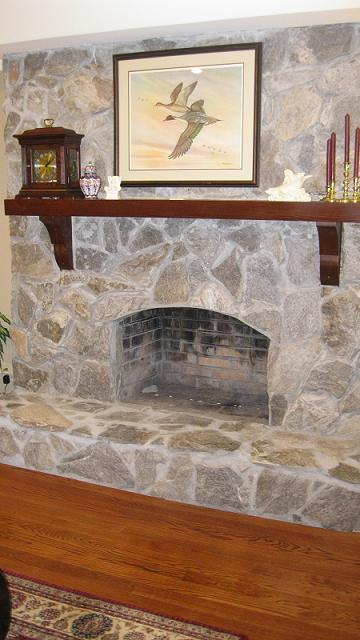 Stone Fireplace Facelift Before And After Bfp Before1 Jpg