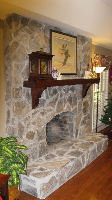 Stone Fireplace Facelift Before And After Bfp Before2 Jpg