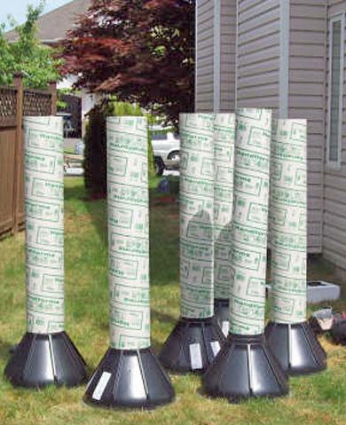 Deck Posts In The Ground Decks Amp Fencing Contractor Talk
