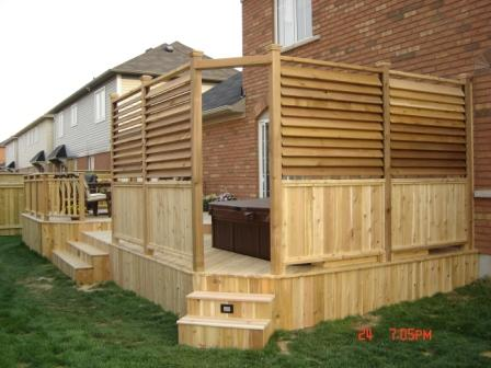 Anybody Use This Louver System Decks Fencing