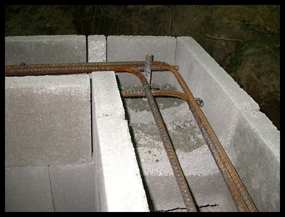 Block wall under existing roof ceiling masonry contractor talk - How put cement foundations ceilings ...