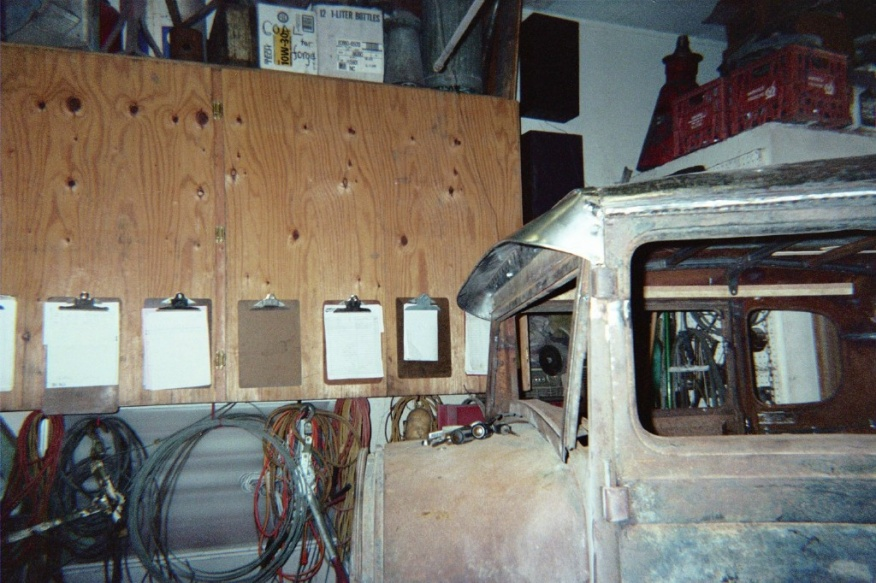 Contractor body build for my 54 chevy 1 1 2 ton page 2 vehicles