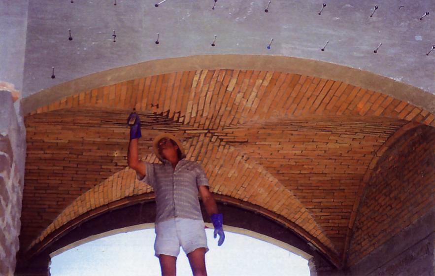 Brick Groined Vault Roof Masonry Contractor Talk