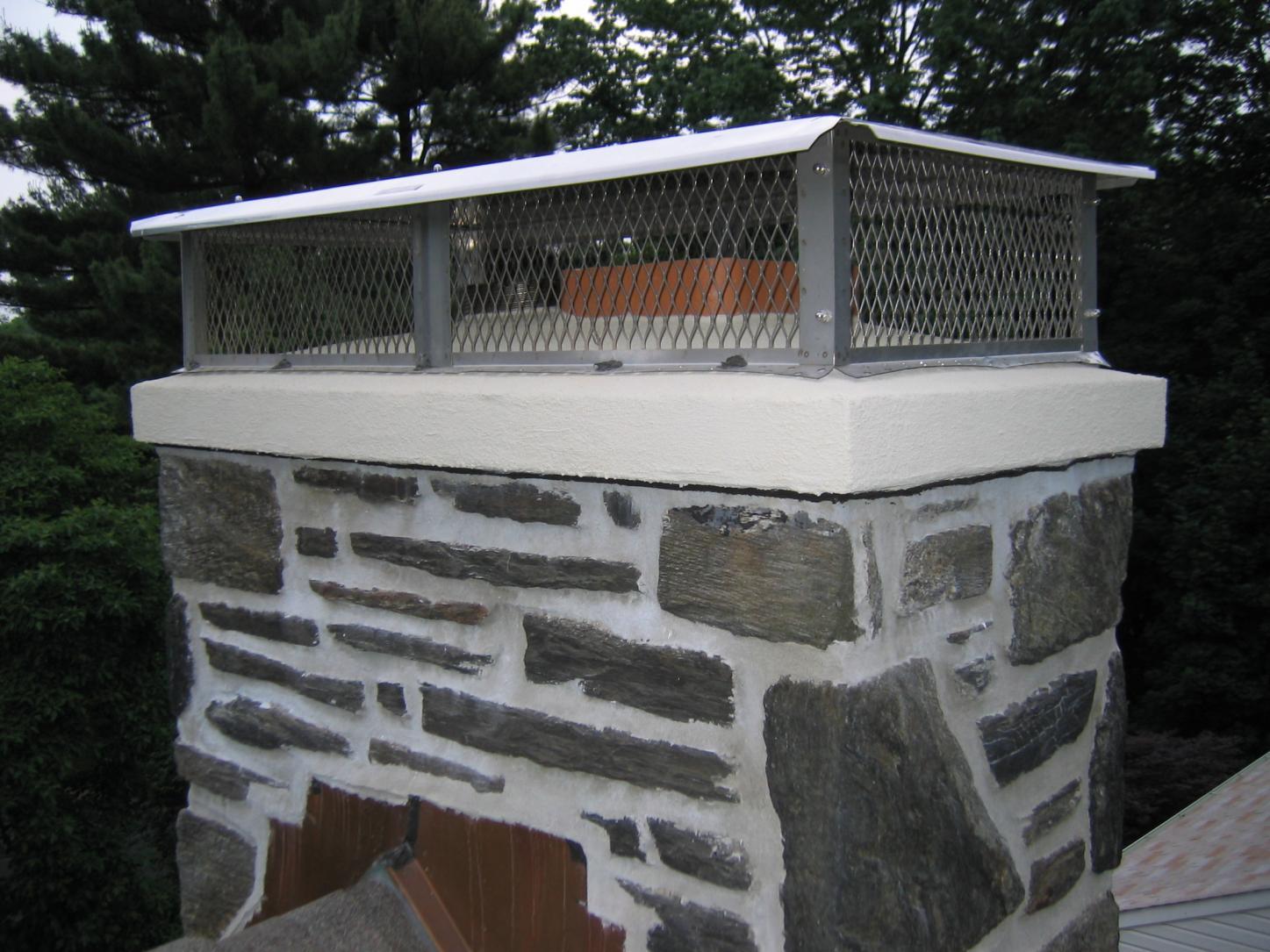 Sealing Top Of Chimney Masonry Contractor Talk