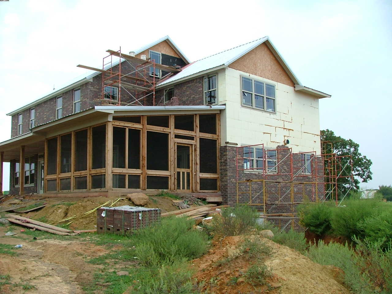 Icf custom home bristow oklahoma page 3 construction for Icf home builders