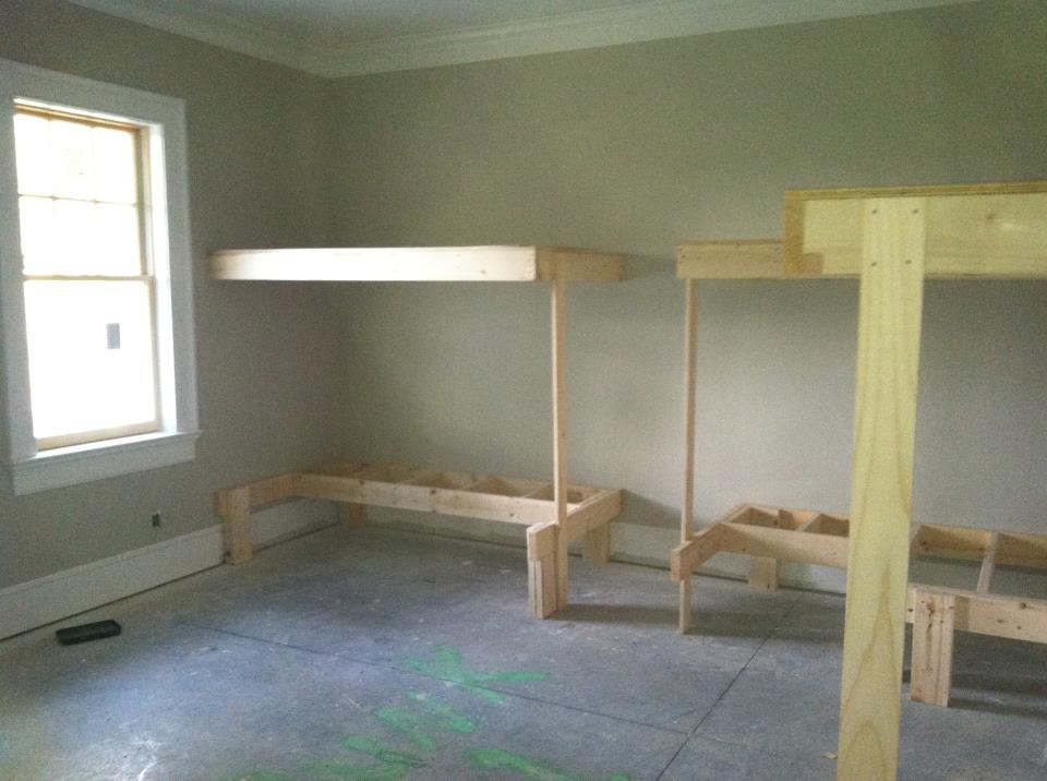 Http Www Contractortalk Com F30 Built Bunk Beds 124240