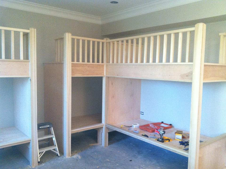 Built In Bunk Beds Carpentry Picture Post Contractor Talk